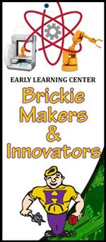Early Learning Center Brickie Makers & Innovators Banner