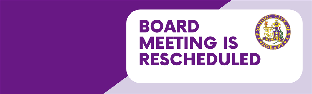 SCOH Board Meeting Reschedule